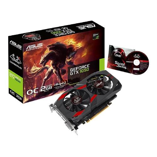 VGA ASUS NVIDIA CERBERUS GTX1050-O2G 2GB
