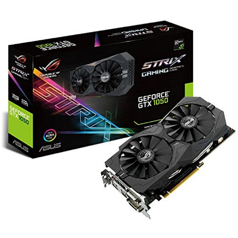 VGA ASUS NVIDIA GEFORCE ROG STRIX-GTX1050-2G-GAMING