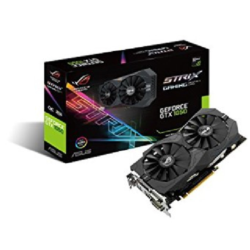 VGA ASUS NVIDIA GEFORCE ROG STRIX-GTX1050-O2G-GAMING