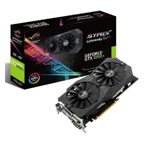 VGA ASUS NVIDIA STRIX-GTX1050TI-4G-GAMING 4GB GDDR5