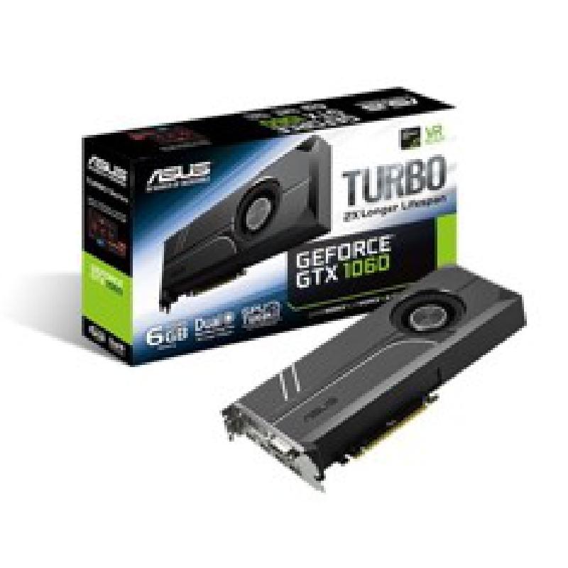 VGA ASUS NVIDIA TURBO-GTX1060-6G 6GB GDRR5