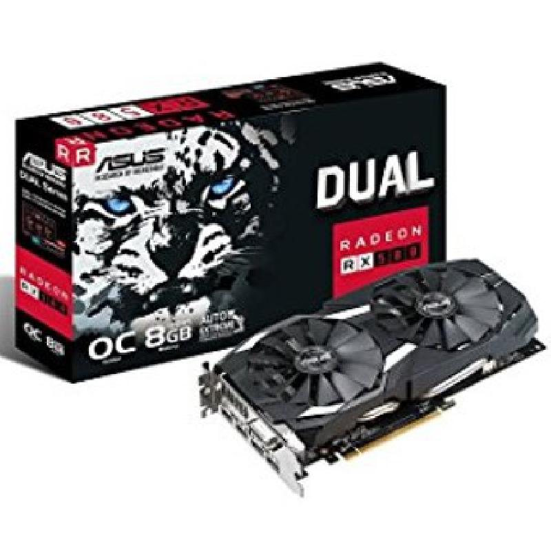 VGA ASUS AMD RADEON DUAL-RX580-O8G 8GB