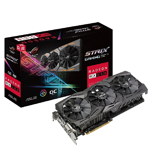 VGA ASUS AMD ROG STRIX-RX580-T8G GAMING