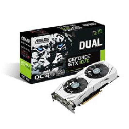 VGA ASUS NVIDIA GEFORCE DUAL-GTX1070-O8G 8GB