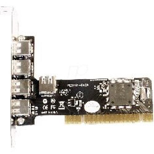 TARJETA PCI 4+1 PUERTOS USB 2.0