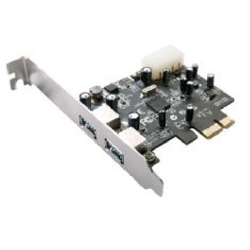 TARJETA PCI EXPRESS X1 2 PUERTOS