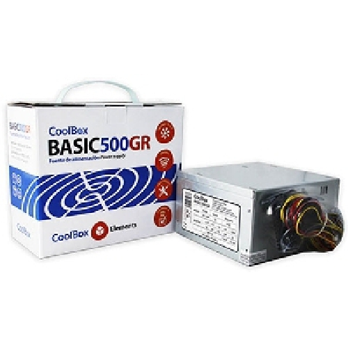 Fuente alimentacion coolbox atx basic 500gr