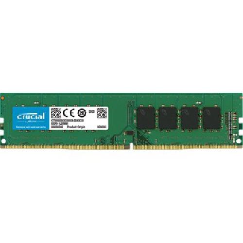 MEMORIA DDR4 8GB CRUCIAL UDIMM 2400MHz