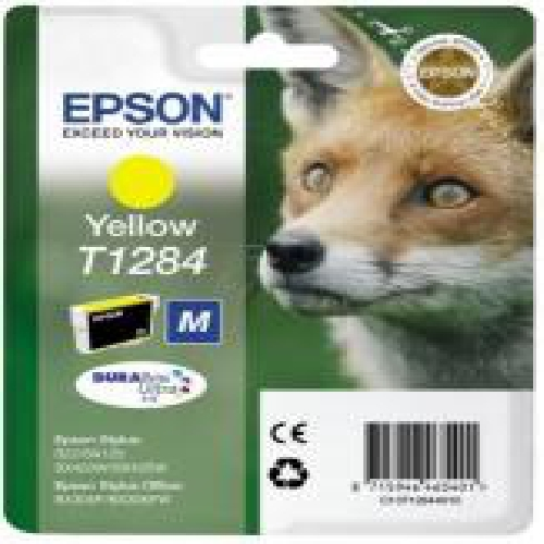 CARTUCHO TINTA EPSON T1284 AMARILLO 3.5ML