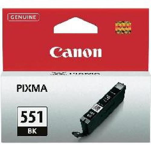 Cartucho tinta canon cli - 551bk negro mg6350