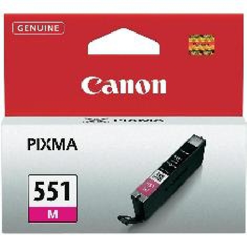 Cartucho tinta canon cli - 551 magenta mg6350
