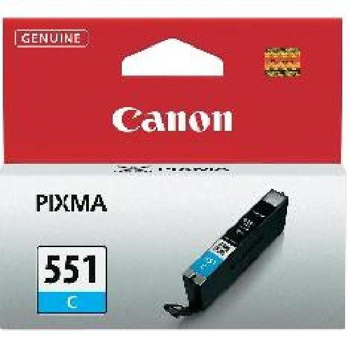 Cartucho tinta canon cli - 551 cian mg6350