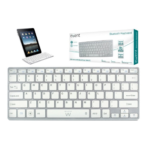 TECLADO ULTRADELGADO BLUETOOTH EWENT EW3146 TABLET
