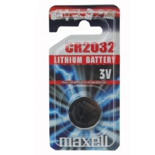 Blister maxell pila boton litio cr2032