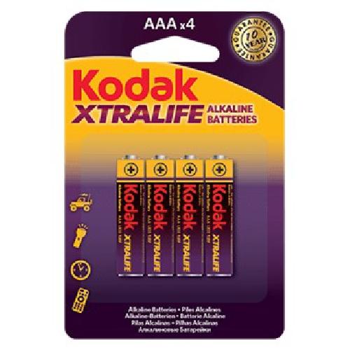 BLISTER KODAK XTRALIFE 4 PILAS AAA