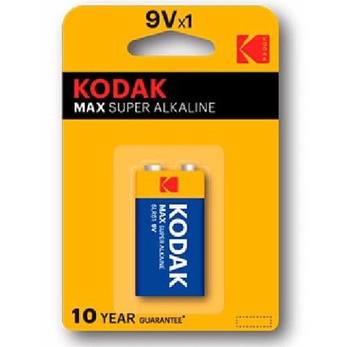 BLISTER KODAK MAX PILA 9V 6LR61