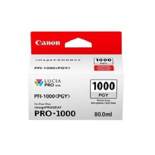 CARTUCHO TINTA CANON PFI-1000PGY FOTO GRIS