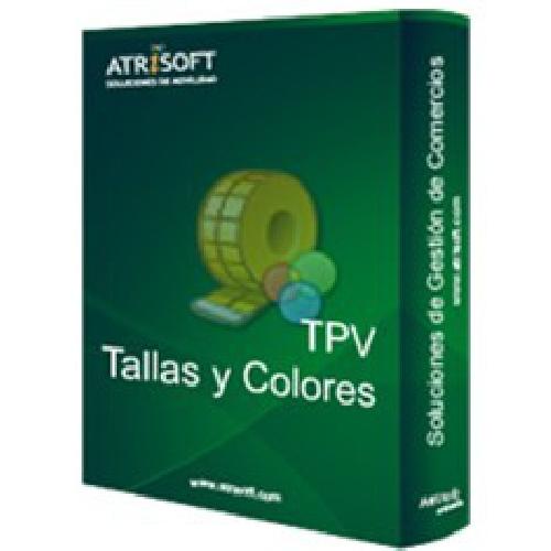 PROGRAMA TPV TALLAS Y COLORES ATRISOFT