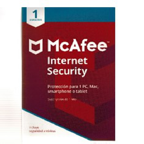 ANTIVIRUS MCAFEE INTERNET SECURITY 2018 1