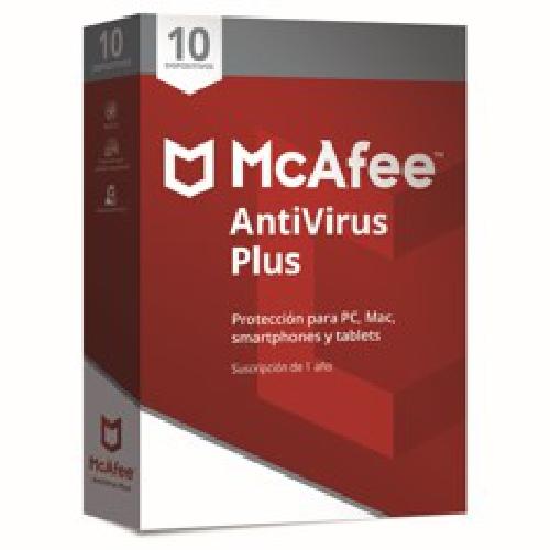 Antivirus mcafee antivirus plus 2019 10