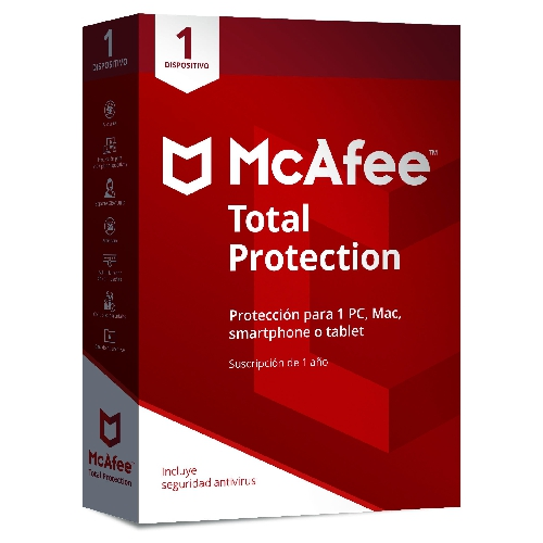 ANTIVIRUS MCAFEE TOTAL PROTECTION 2019 1