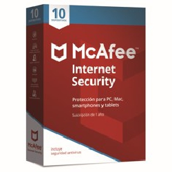 ANTIVIRUS MCAFEE INTERNET SECURITY 2018 10