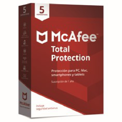 ANTIVIRUS MCAFEE TOTAL PROTECTION 2018 5