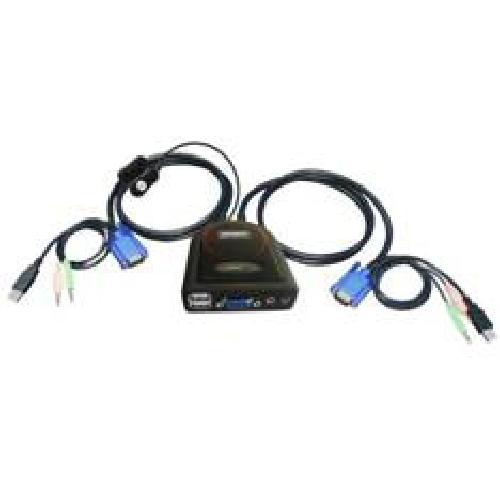 KVM EMINENT 2 PUERTOS USB Y