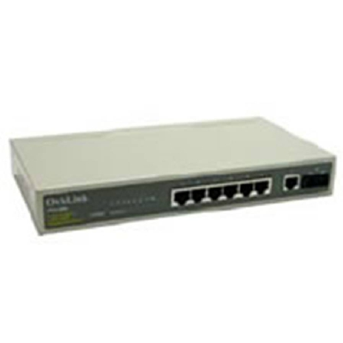 Switch 7 puertos 10pulgadas rj45 10