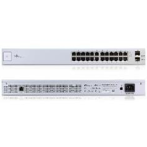 SWITCH 24 PUERTOS UBIQUITI US-24 UNIFI
