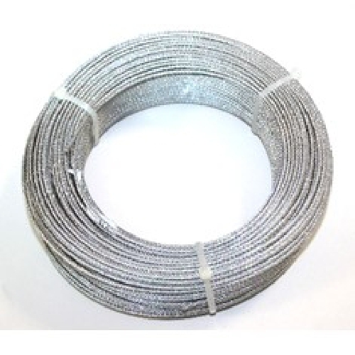 Cable acero galvanizado 2mm (6x7+1) rollo