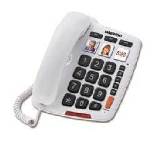 TELEFONO SOBREMESA DAEWOO DTC-760 MANOS LIBRES