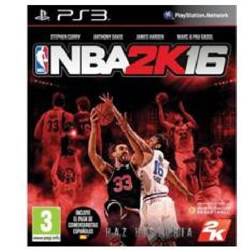 JUEGO PS3 - NBA 2K 16