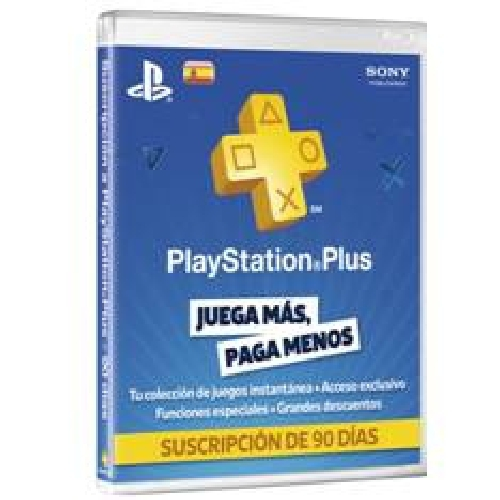 TARJETA SONY PLAYSTATION PLUS CARD 90