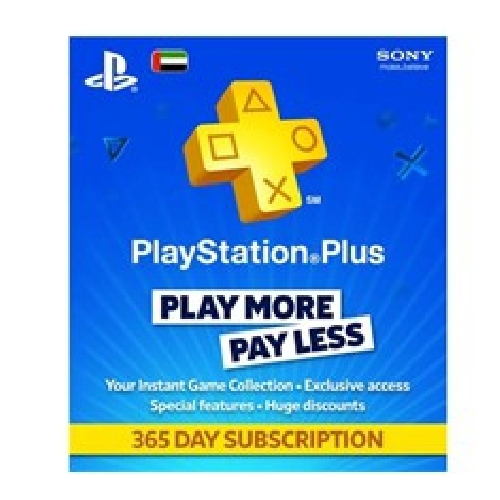 TARJETA SONY PLAYSTATION PLUS CARD 365