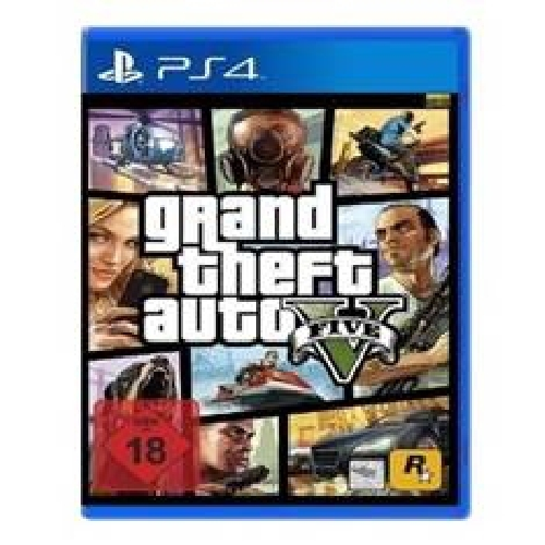 JUEGO PS4 - GRAND THEFT AUTO