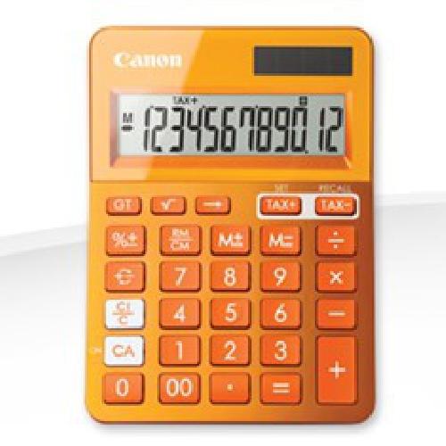 Calculadora canon sobremesa ls - 123k naranja