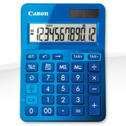 Calculadora canon sobremesa ls - 123k azul