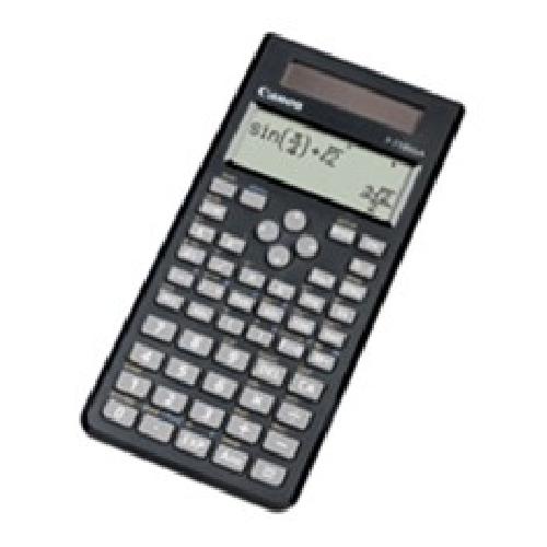 Calculadora canon cientifica f - 718sga - exp - dbl pantalla matriz