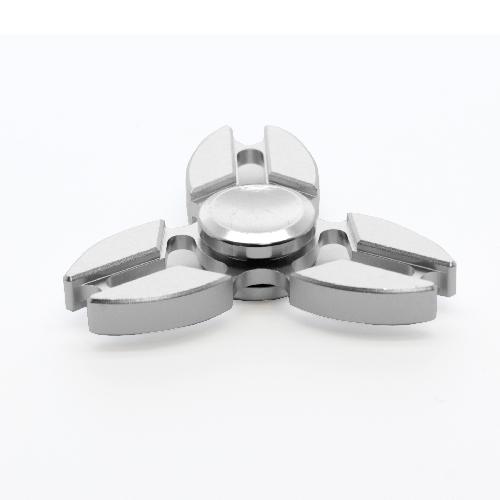 Fidget spinner aluminio alta velocidad estrella