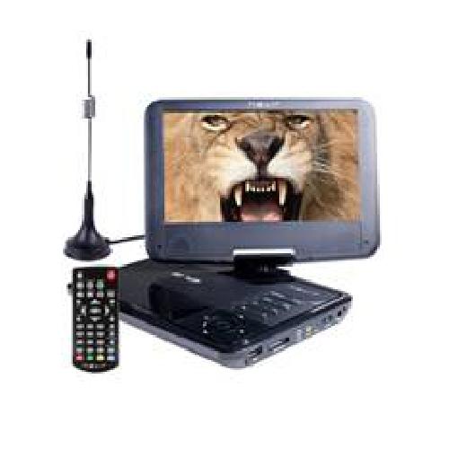Dvd portatil nevir 9pulgadas nvr - 2767dvd - puct2 negro