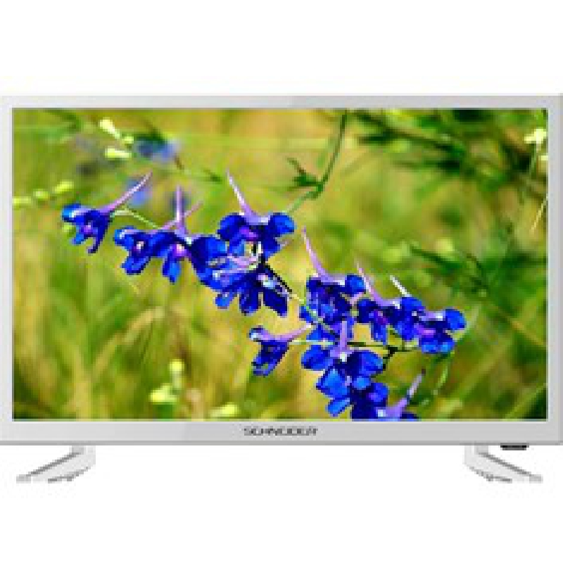 "TV SCHNEIDER 23.6"" LED HD BLANCO"