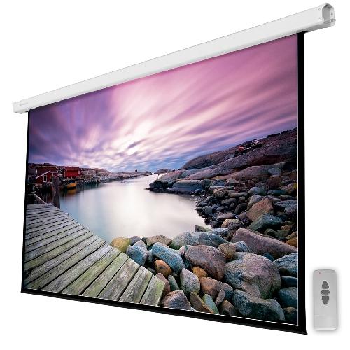 Pantalla electrica videoproyector pared y techo