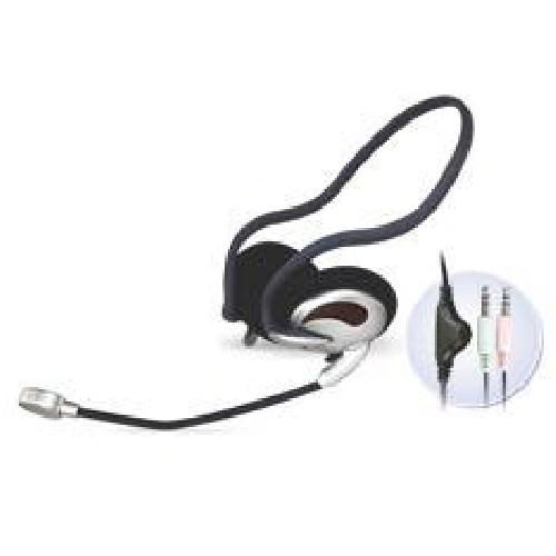 Auriculares con microfono phoenix stereo diadema