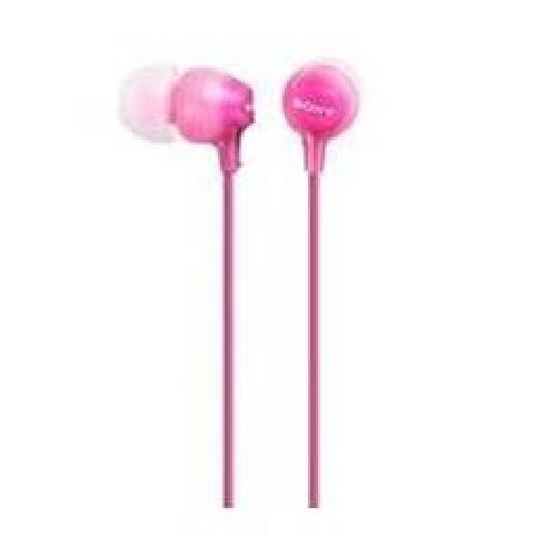 Auriculares sony mdrex15lppi rosa