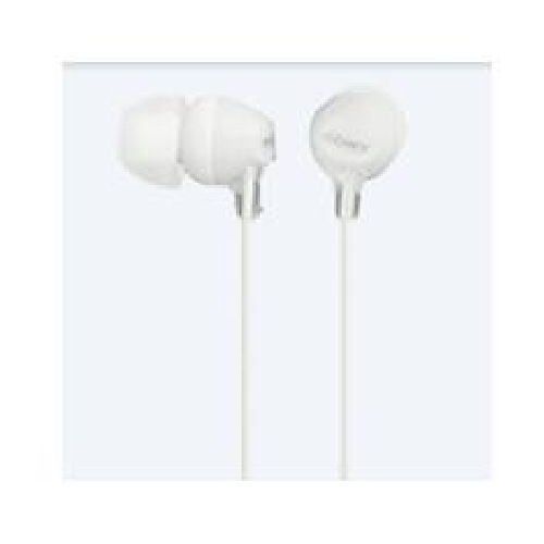 Auriculares sony mdrex15lplw boton blanco