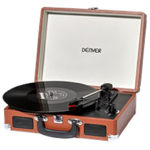 GIRADISCOS DENVER VPL-120 MARRON
