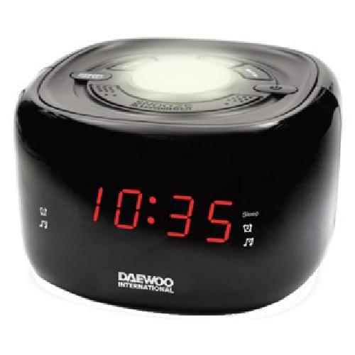 RADIO DESPERTADOR DAEWOO DCR-440 NEGRO