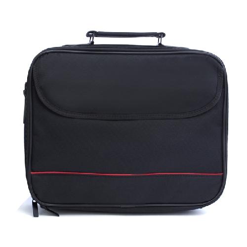Maletin funda portatiles hasta 15.6pulgadas negro
