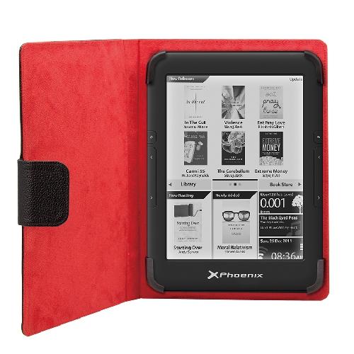 Funda universal phoenix phebookcase6+ tablet libro